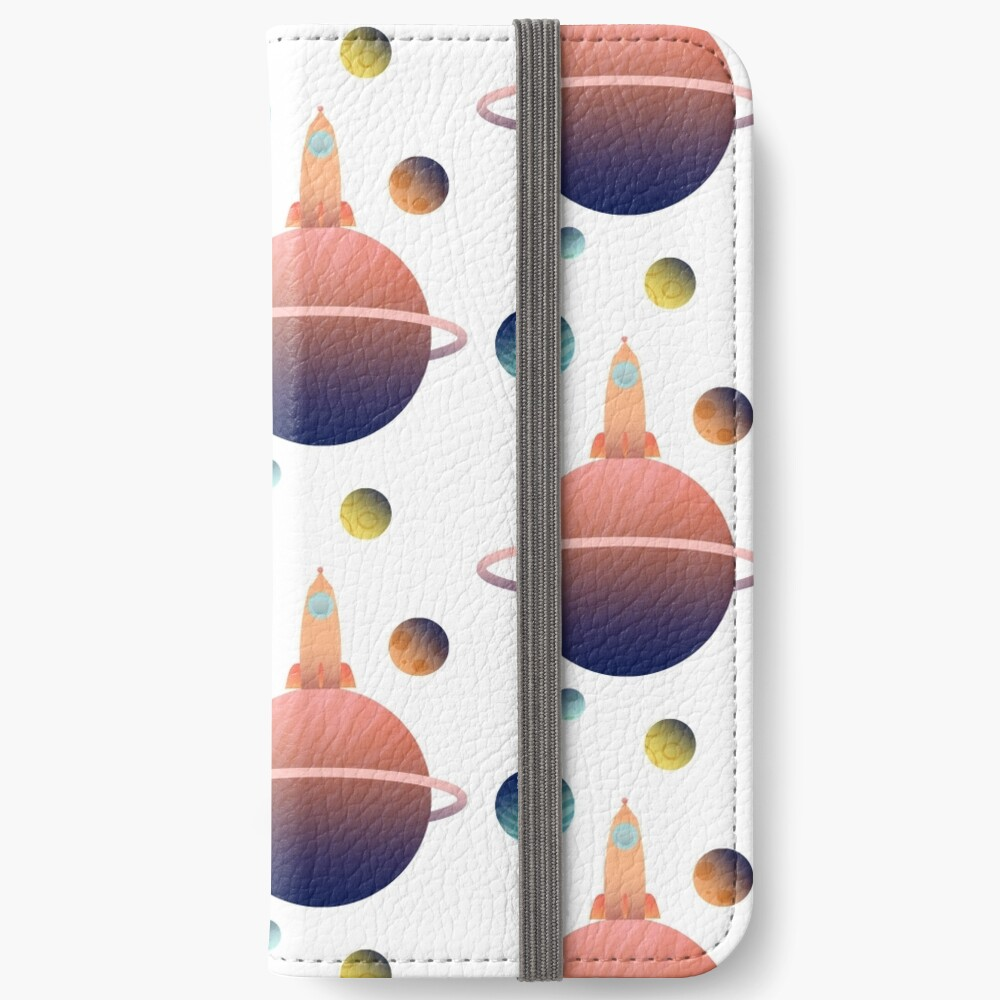 Into Space iPhone Wallet