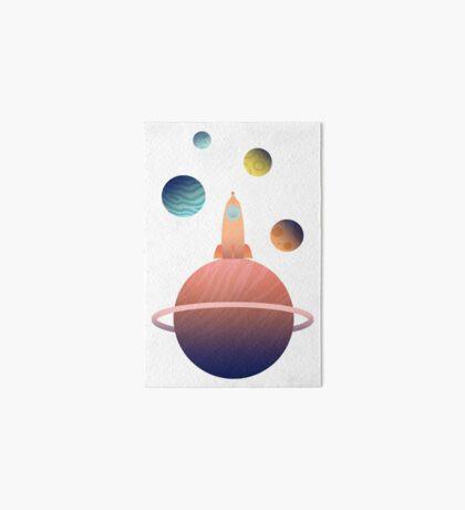 Into Space Art Board Print