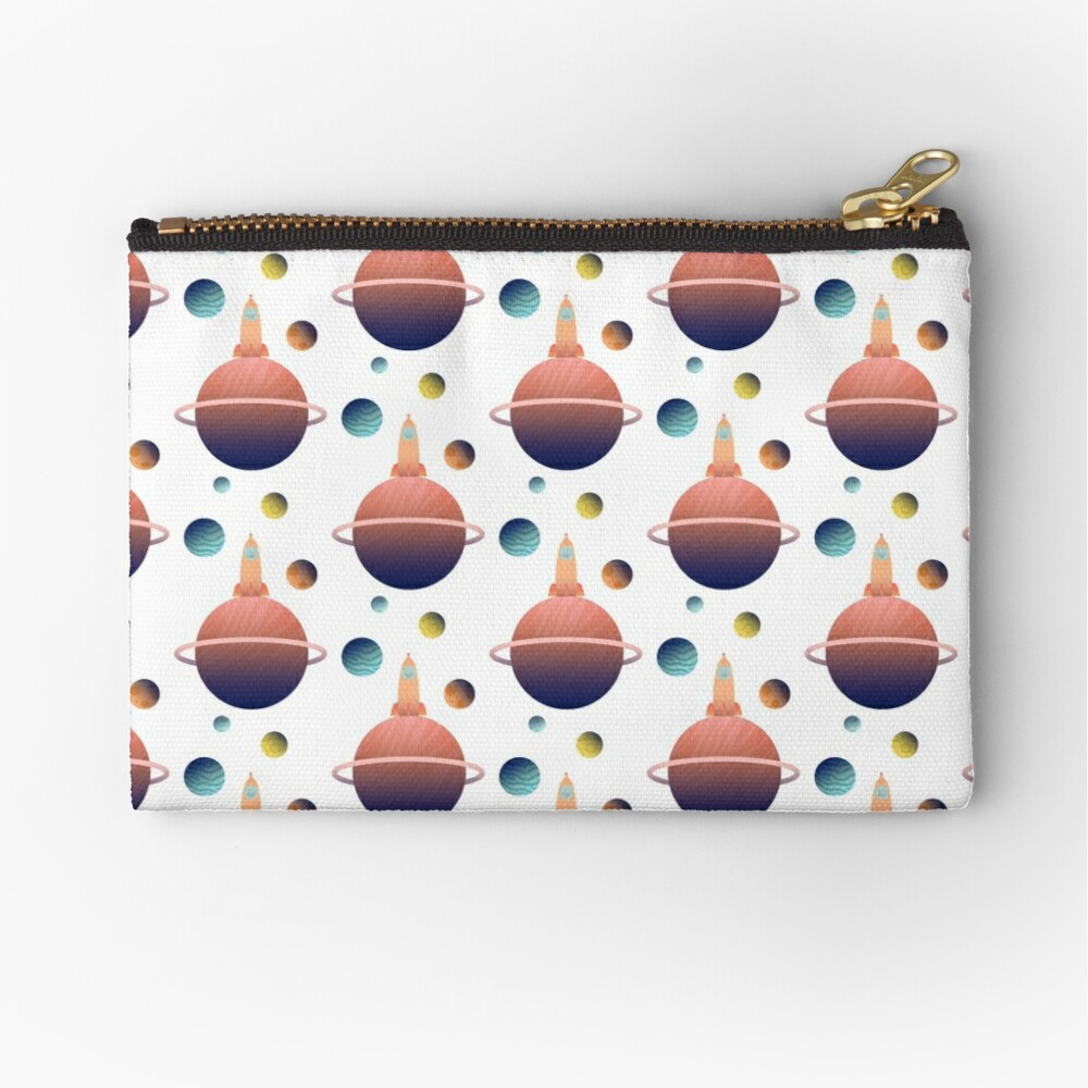 Into Space Zipper Pouch