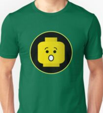MINIFIG SHOCKED FACE T-Shirt