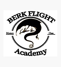 Httyd Berk Flight Academy Mystery Class Photographic Print