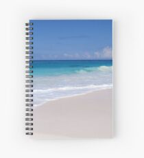 The Ocean's Lacy Fringe - Tropical Horizons Series Spiral Notebook