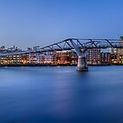 River View of St Paul's Cathedral by timmburgess