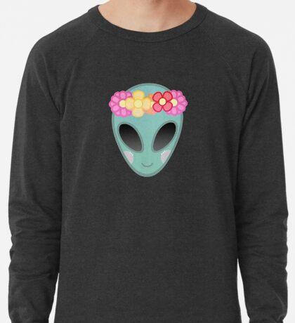 Flower Power Outer Space Lightweight Sweatshirt