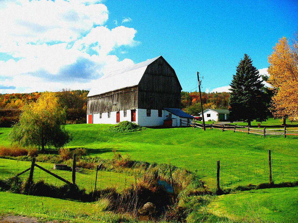 Pretty Farm by nikspix