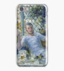 Auguste Renoir - The Canoeists Luncheon, 1875 iPhone Case/Skin