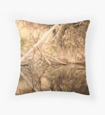 Yarra Reflections I  Throw Pillow