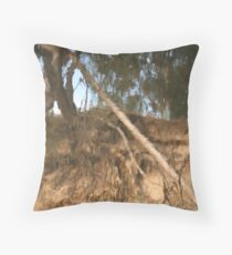 Yarra Reflections II Throw Pillow