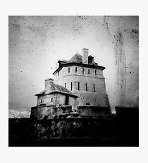 Freaky House Photographic Print