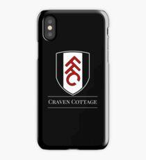 Black & White Football - Fulham FC iPhone Case