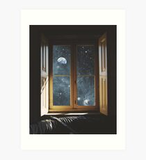 WINDOW TO THE UNIVERSE Art Print