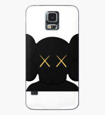 KAWS companion head logo black gold Case/Skin for Samsung Galaxy