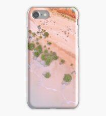 simpson beach mangroves areial  iPhone Case/Skin