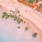 simpson beach mangroves areial  by Elliot62
