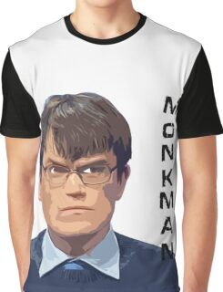 University Challenge Personalities - The Monkman Graphic T-Shirt