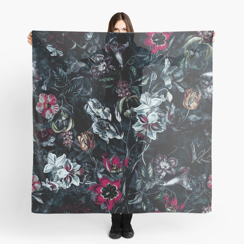NIGHT GARDEN II Scarf
