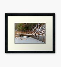 Cow Pond Brook Massachusetts Framed Print