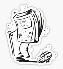 Game Over game boy Sticker