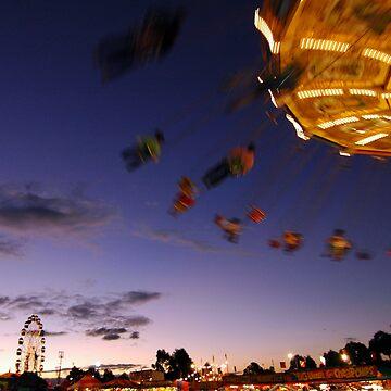carousel at dusk by rkdogz