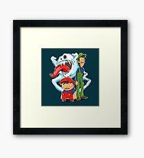 Haunted Kingdom Framed Print