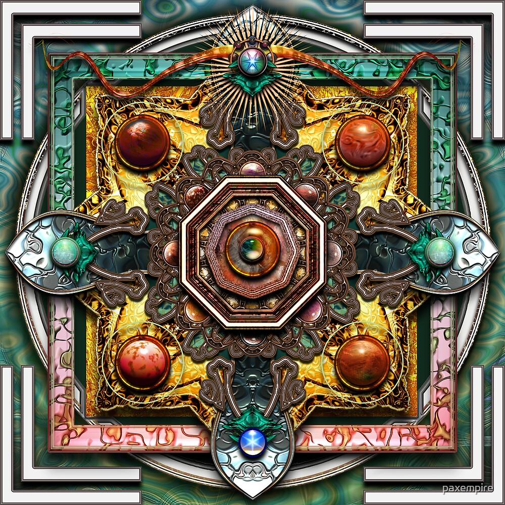 Celtic Mandala  by paxempire