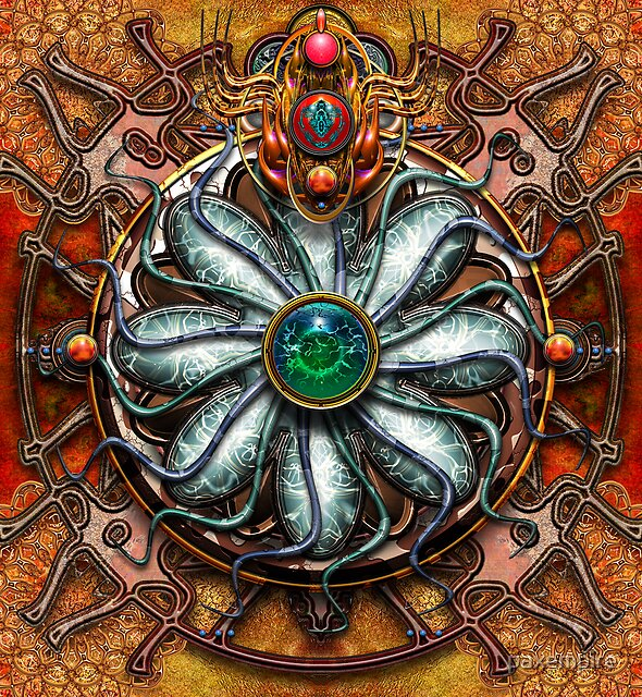 Water Source Mandala  by paxempire