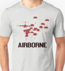 Airborne Jump (Airborne Red) Unisex T-Shirt