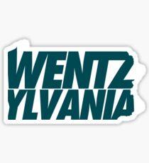 Wentzylvania 1 Sticker
