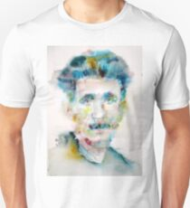 GEORGE ORWELL - watercolor portrait Unisex T-Shirt