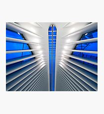 Detail Of The World Trade Center Transportation Hub, Oculus, by Architect Santiago Calatrava | New York City, NY  Photographic Print