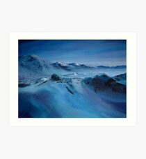 Spitsbergen/ Oil painting Art Print