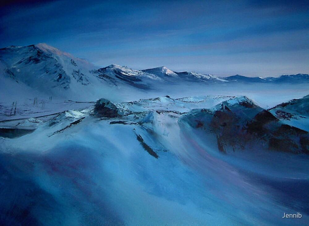 Spitsbergen/ Oil painting by Jennib