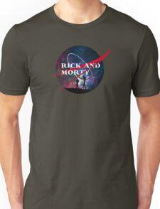 Rick and Morty Nasa Unisex T-Shirt