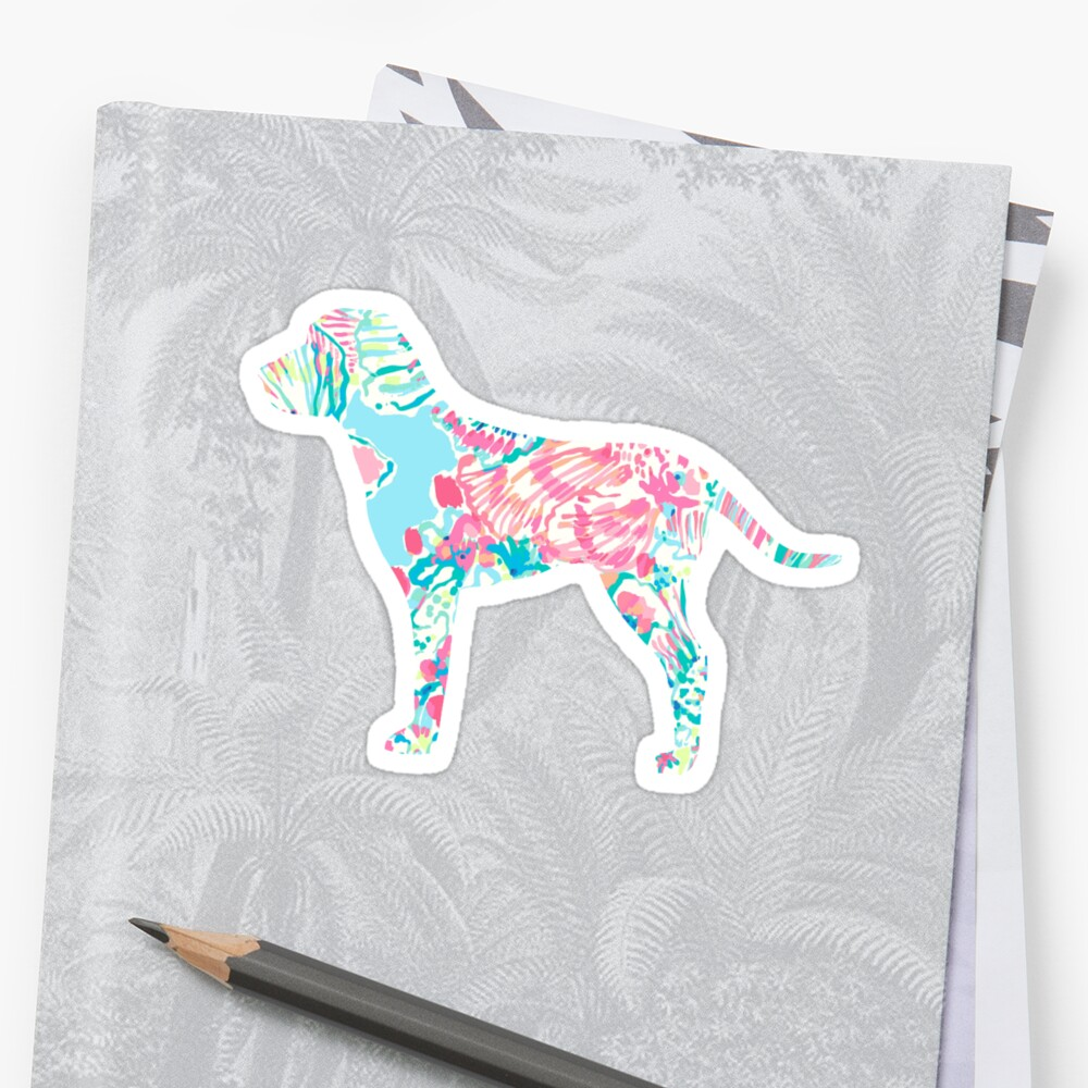 Fish Print Dog by CatherineCameo