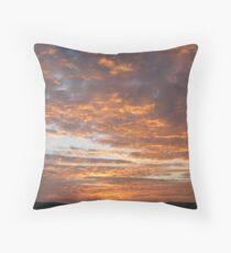 October Sunrise Throw Pillow