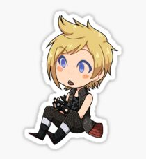 Tiny Prompto Sticker
