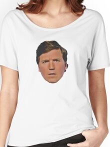 Tucker Carlson - Can't Cuck The Tuck - MAGA - Absolutely Concerned Women's Relaxed Fit T-Shirt