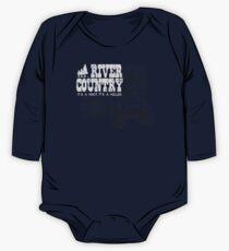 River Country - Es ist ein Hoot Es ist ein Holler! Baby Body Langarm