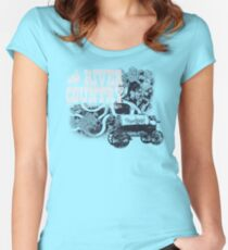 River Country - It's a Hoot It's a Holler! Women's Fitted Scoop T-Shirt