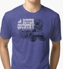 River Country - It's a Hoot It's a Holler! Tri-blend T-Shirt