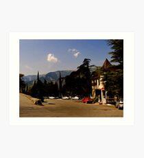 Yalta Winery Art Print