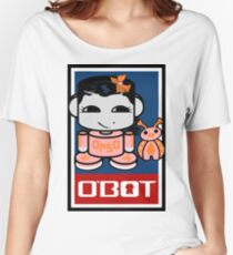 Opso Yo & Epo O'BABYBOT Toy Robot 2.0 Women's Relaxed Fit T-Shirt