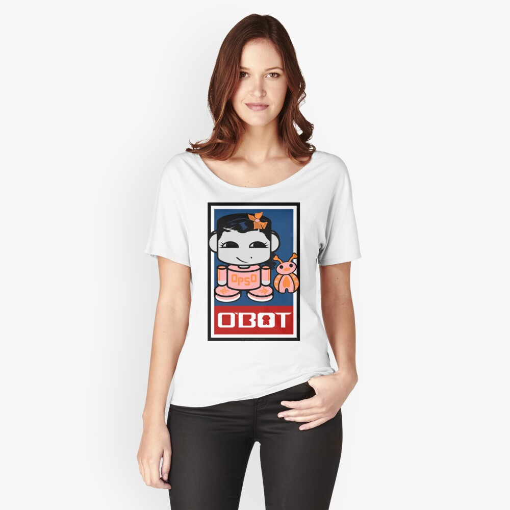 Opso Yo & Epo O'BABYBOT Toy Robot 2.0 Relaxed Fit T-Shirt