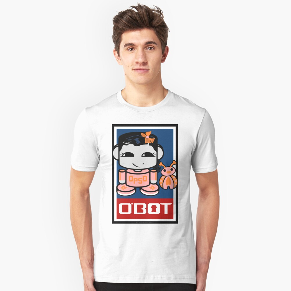 Opso Yo & Epo O'BABYBOT Toy Robot 2.0 Slim Fit T-Shirt