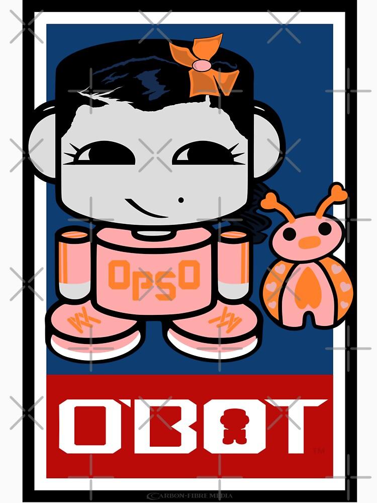 Opso Yo & Epo O'BABYBOT Toy Robot 2.0 by carbonfibreme