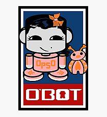 Opso Yo & Epo O'BABYBOT Toy Robot 2.0 Photographic Print