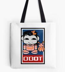 Opso Yo & Epo O'BABYBOT Toy Robot 2.0 Tote Bag