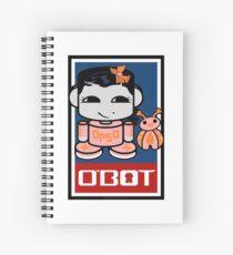 Opso Yo & Epo O'BABYBOT Toy Robot 2.0 Spiral Notebook