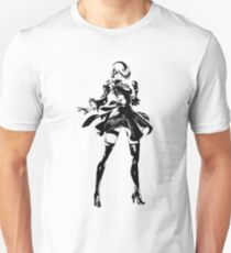 Weathered 2B Nier Automata Unisex T-Shirt