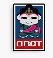 Kata O'BABYBOT Toy Robot 2.0 Canvas Print